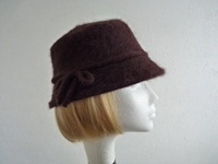 Failsworth Millinery Ladies hat Dark Brown